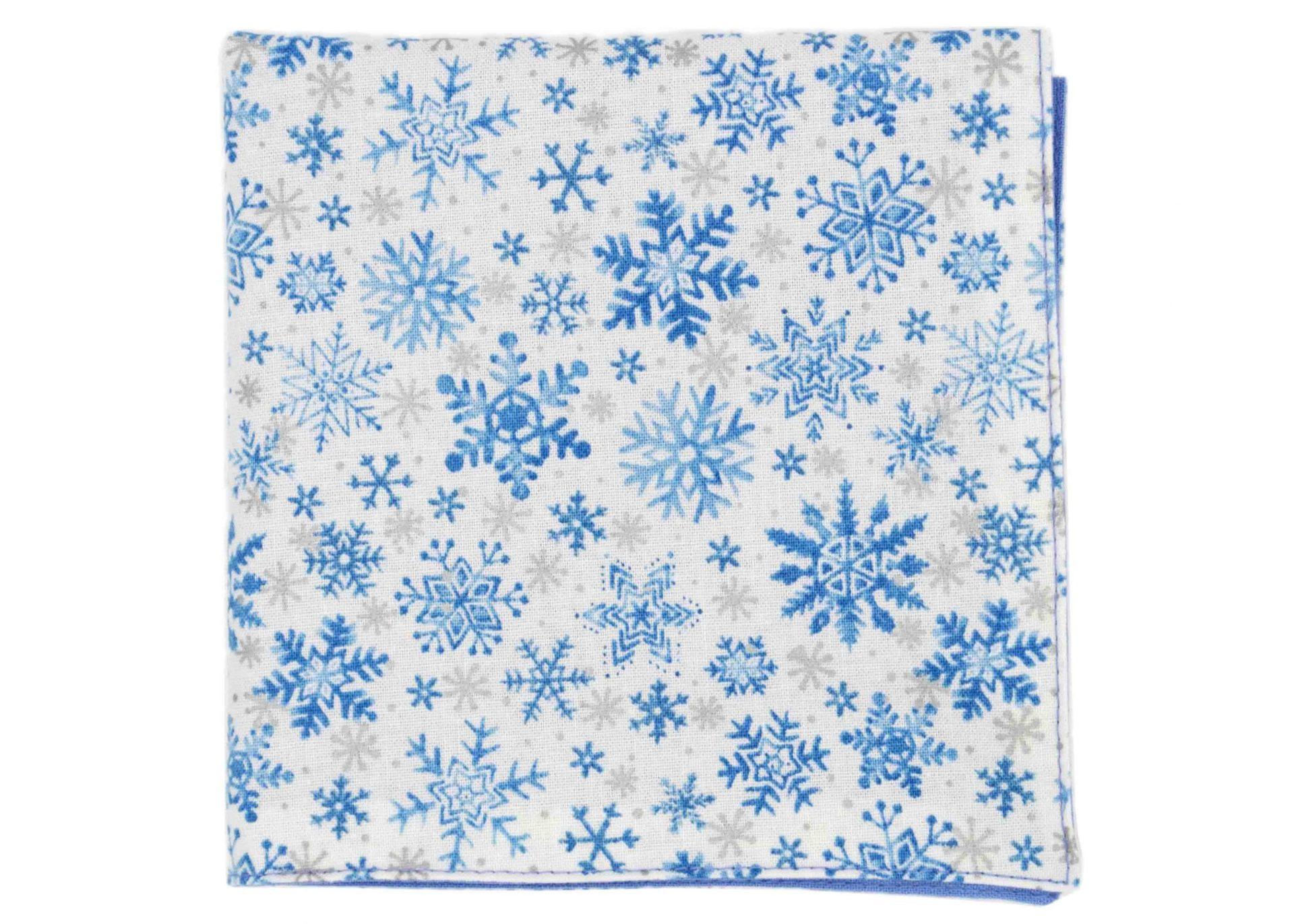 JAGGS_costume_chemise_sur_mesure_bruxelles_pochette_let_it_snow_white_flocons_de_neiges_bleu_ciel