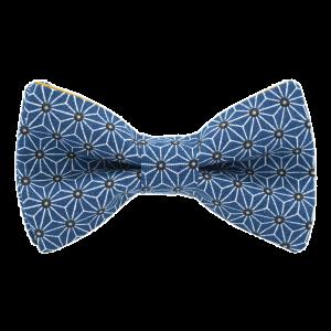 JAGGS-noeud-papillon-japonais-asanoha-bleu-petrole