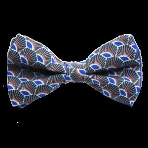 JAGGS-noeud-papillon-japonais-plumes-bleu-roi