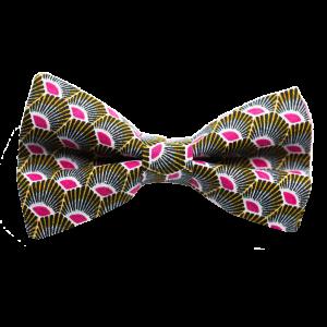 JAGGS-noeud-papillon-japonais-plumes-jaune-rose-JA.NP.JA.PLUM