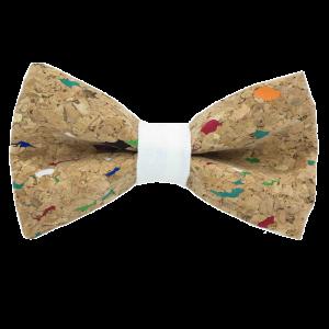JAGGS-noeud-papillon-liege-multicolore-MUSCAT-blanc-