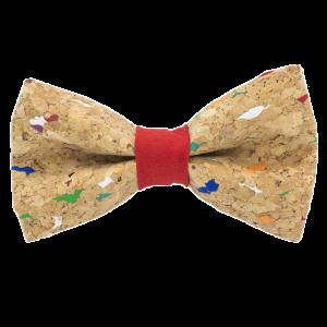 JAGGS-noeud-papillon-liege-multicolore-MUSCAT-rouge