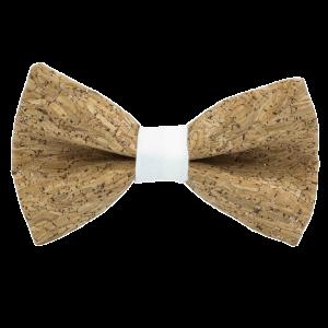 JAGGS-noeud-papillon-liege-paillettes-argentees-MERLOT-blanc