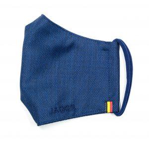 JAGGS-masque-sartorial-tissu-costume-bleu-lumineux