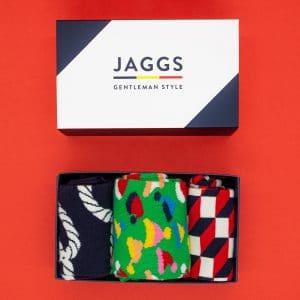 JAGGS-costumes-chemises-sur-mesure-boite-surprise-chaussettes-happy-socks