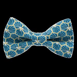 JAGGS-noeud-papillon-japonais-polygone-turquoise-fonce