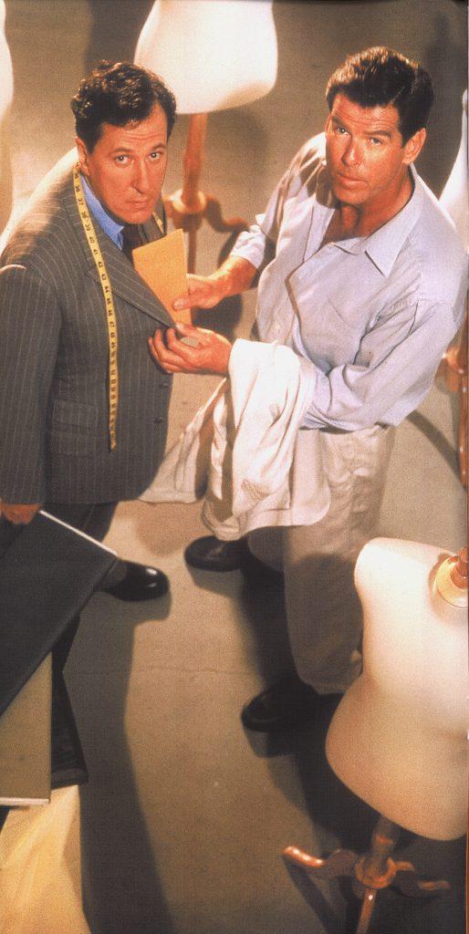 scabal costume pierce brosnan james bond tailleur