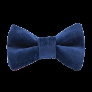 JAGGS-costumes-chemises-sur-mesure-nœud-papillon-velours-VELVET-bleu-marine
