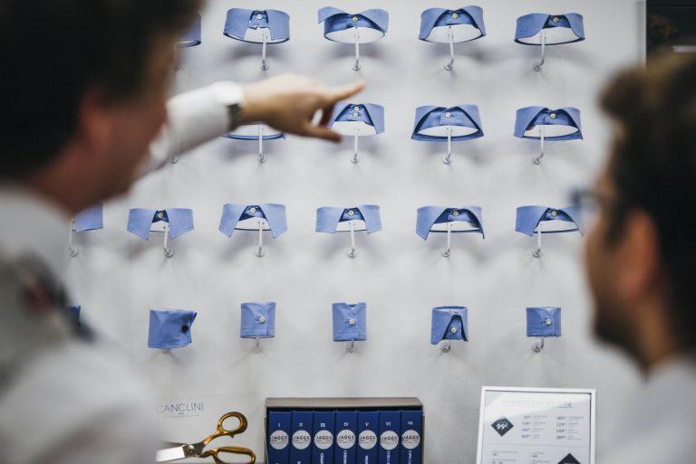 Choix de cols de chemises chez JAGGS