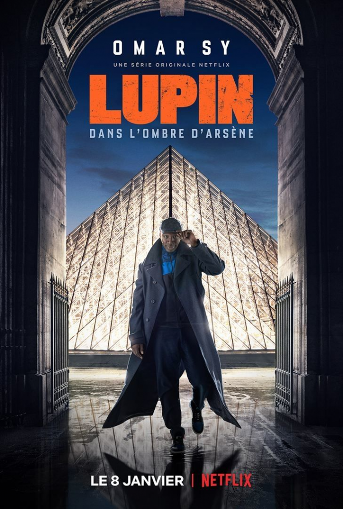 Affiche Lupin Netflix Omar Sy