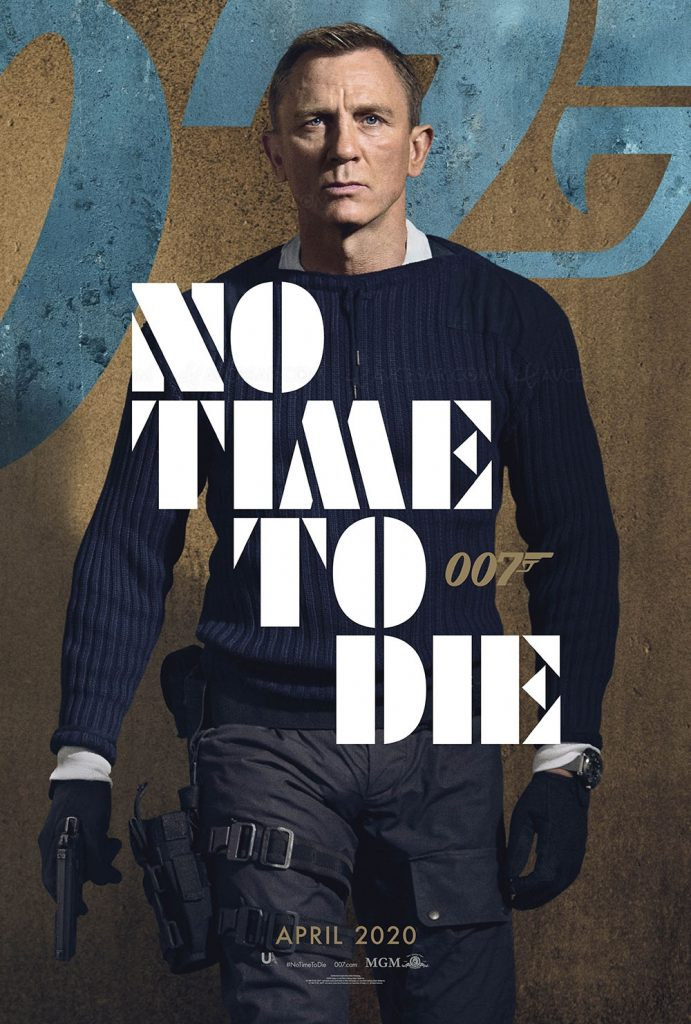 Poster de No Time To Die