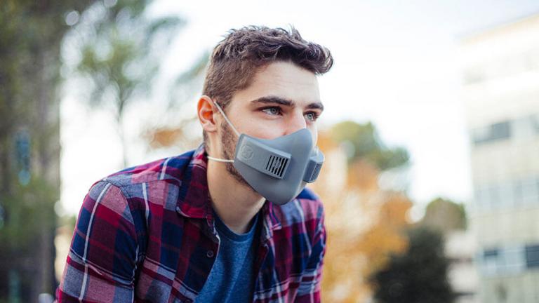 Masque buccal xHale innovation du CES