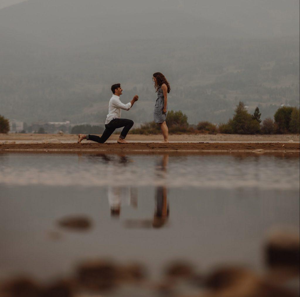 Demande en mariage pour la Saint-Valentin