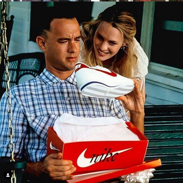 Les Nike de Forrest Gump