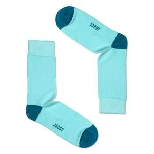 JAGGS-chaussettes-coton-homme-unies-vert-piscine