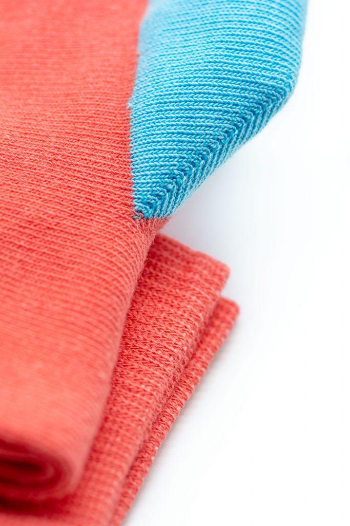 Chaussettes avec renfort de talon en polyamide
