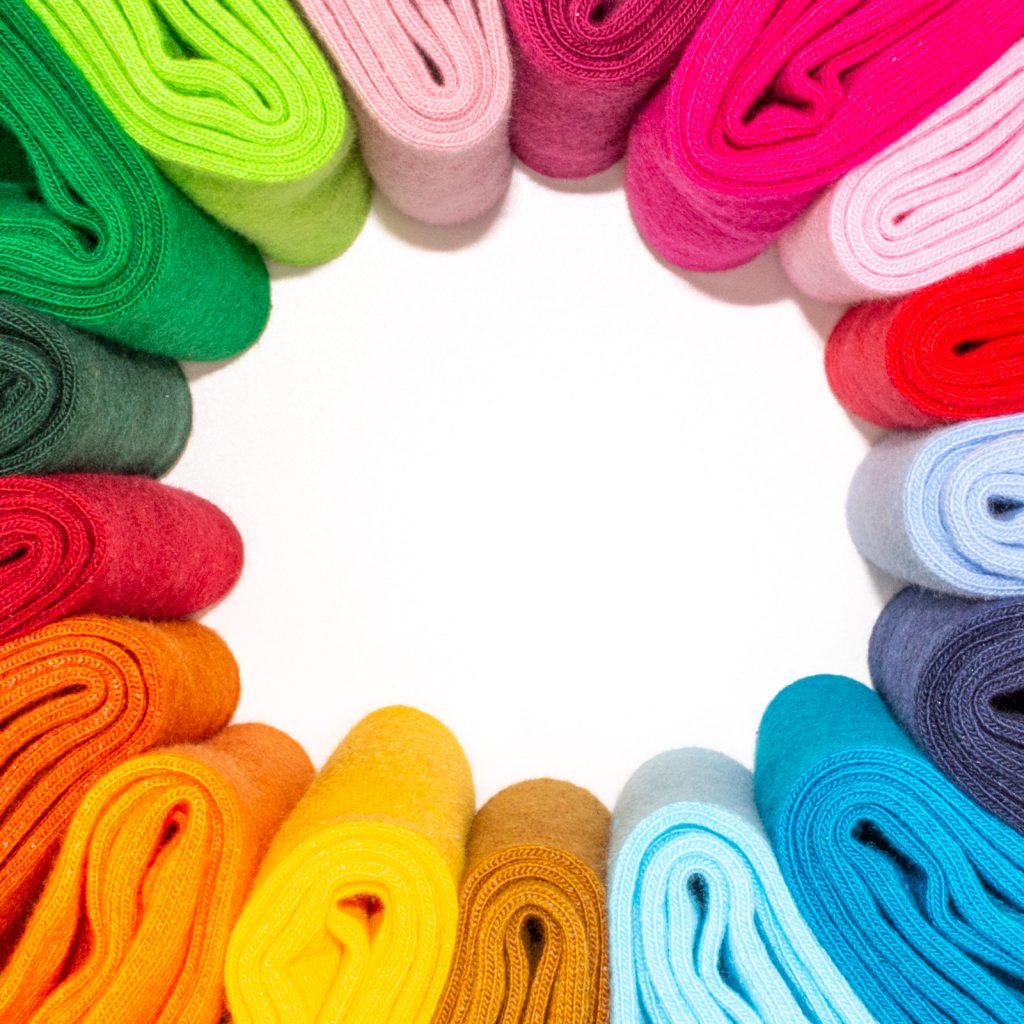 Chaussettes de couleur unie pour homme