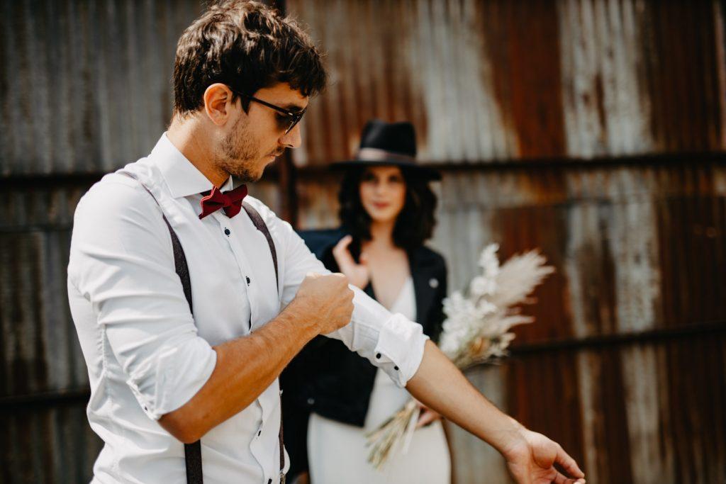 Accessoires pour costume de mariage en homme Bruxelles