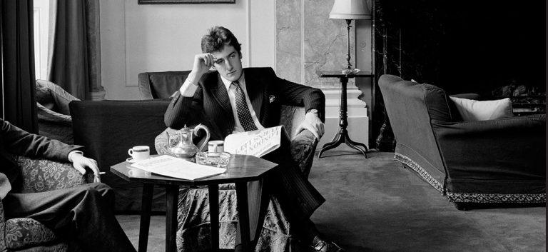 Série de photographies Gentlemen de Karen Knorr