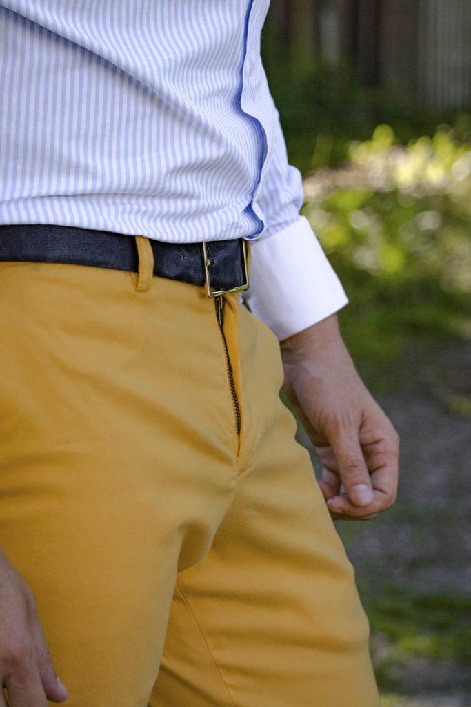 Pantalon chino en prêt-à-porter premium JAGGS Belgique Waterloo