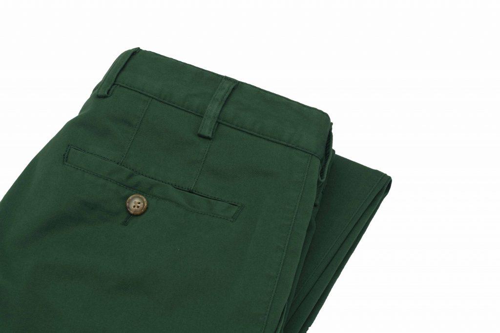 Pantalon chino pour homme vert