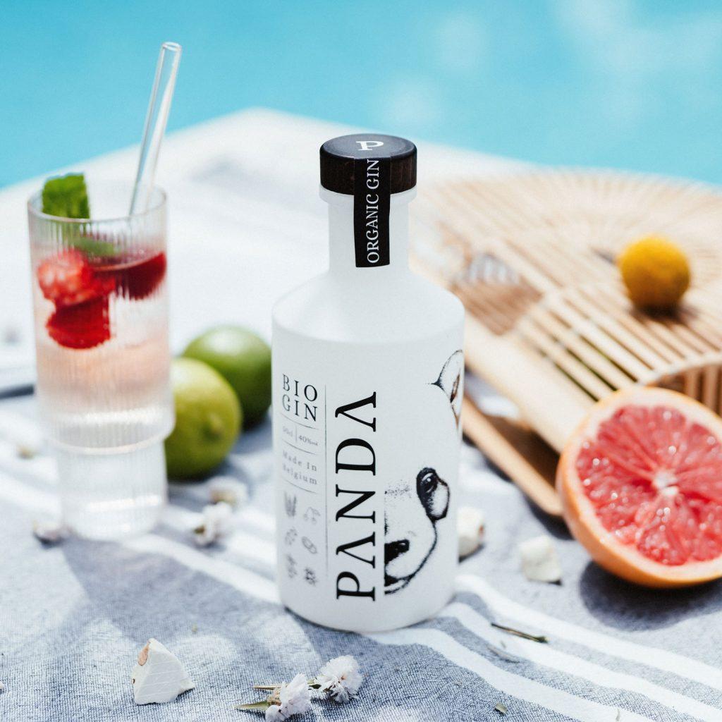 Panda Gin belge bio, parfait pour l'été