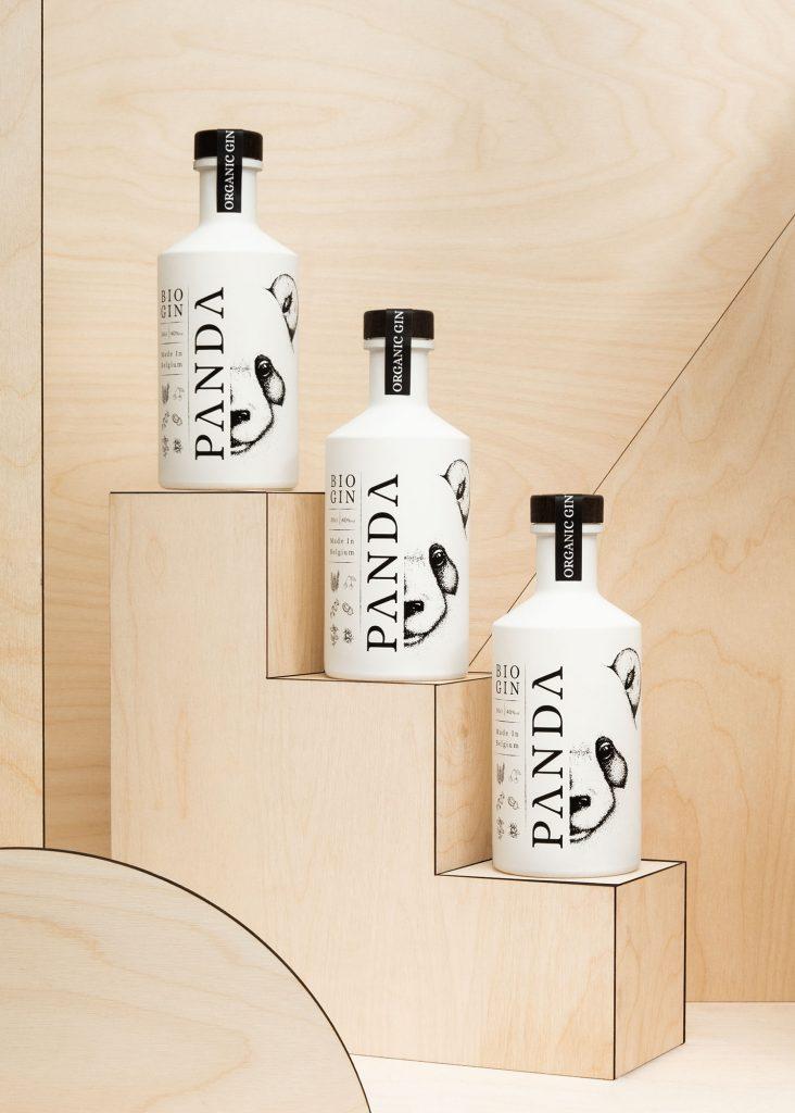 Panda Gin bio belge