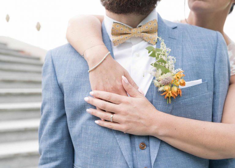 Costume de mariage sur-mesure Belgique