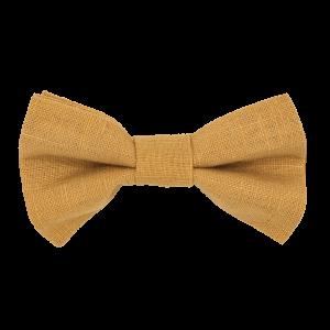 JAGGS-noeud-papillon-lin-jaune-moutarde