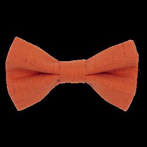 JAGGS-noeud-papillon-lin-orange-citrouille