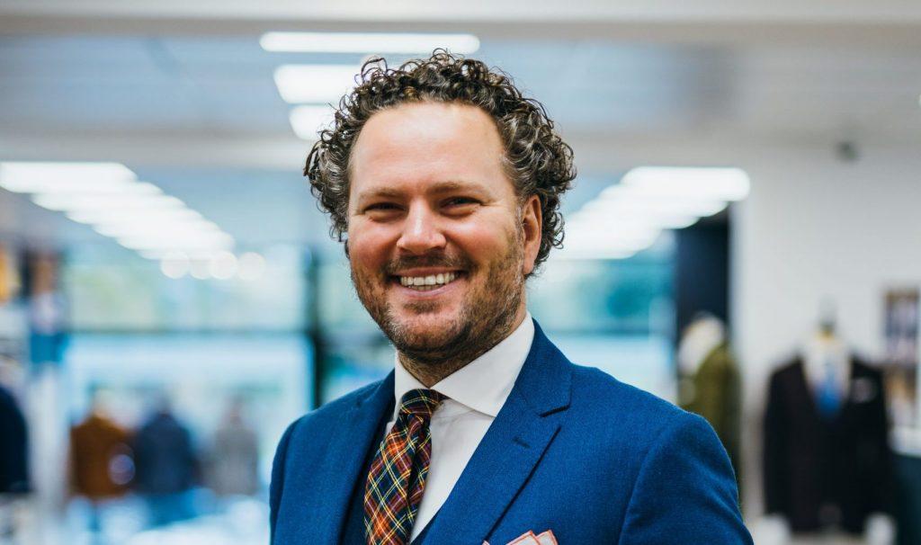Alexandre Hames, nominé au DS Best Dressed Man 2021