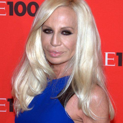 Donatella Versace, styliste de la Maison Versace