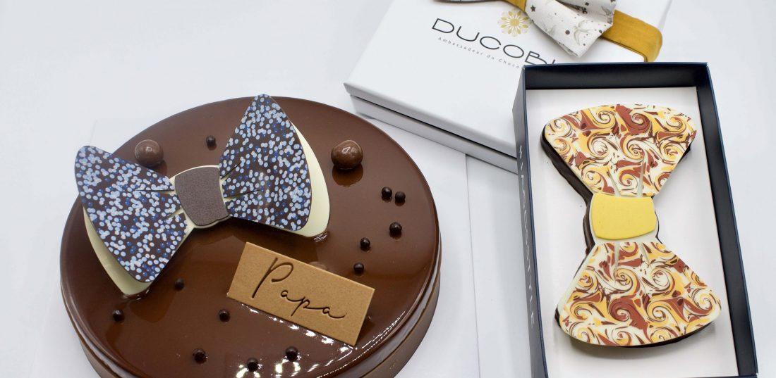 gateau-chocolat-noeud-papillon-fete-des-papas